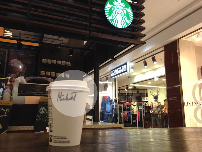 Manipulacja klientem w kawiarni