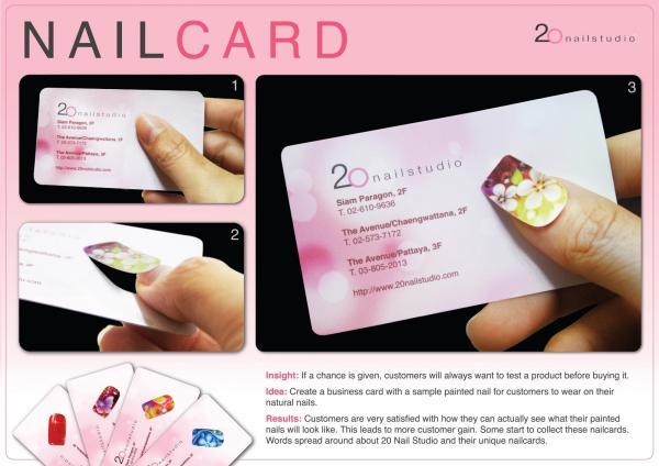 wizytówki kosmetyczne
