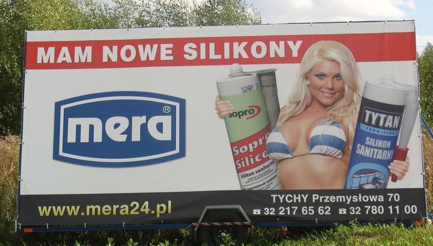 seks w reklamie lokalnej